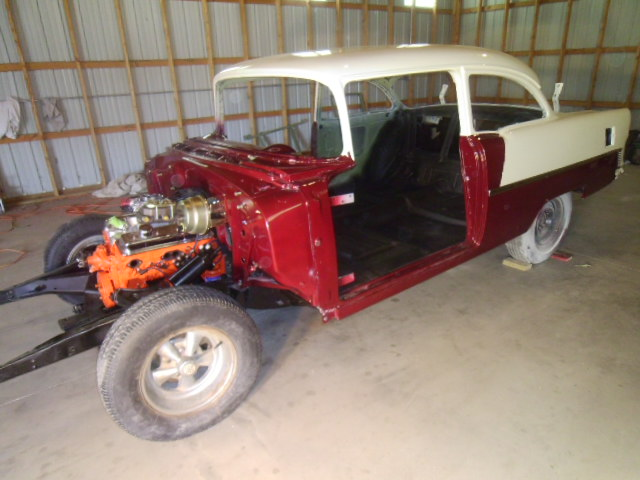 55 Chevy Projects For Sale http://www.mulvanemarauders.com/Members.asp