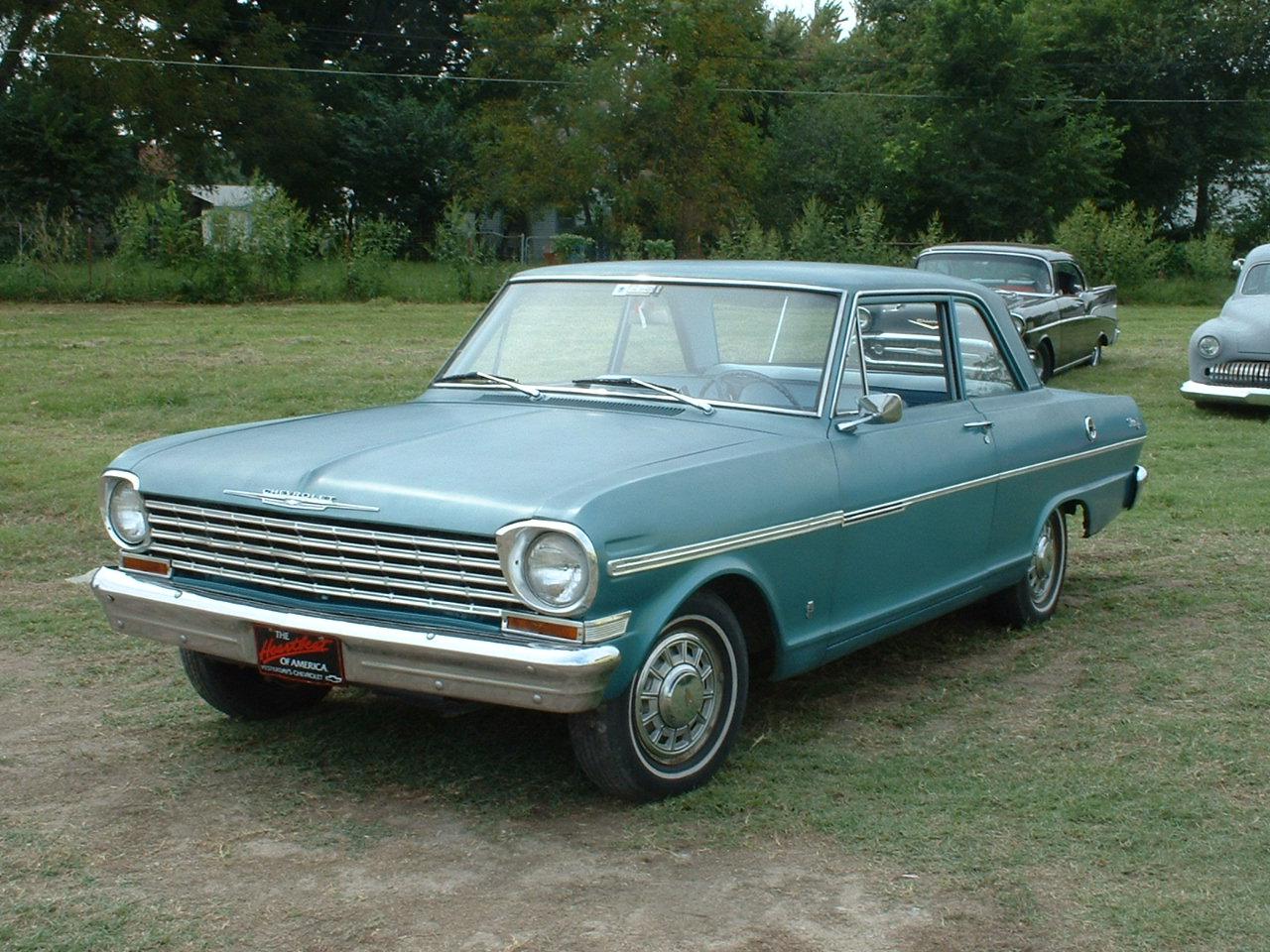 Car 5: 63 Chevy Nova II Sedan