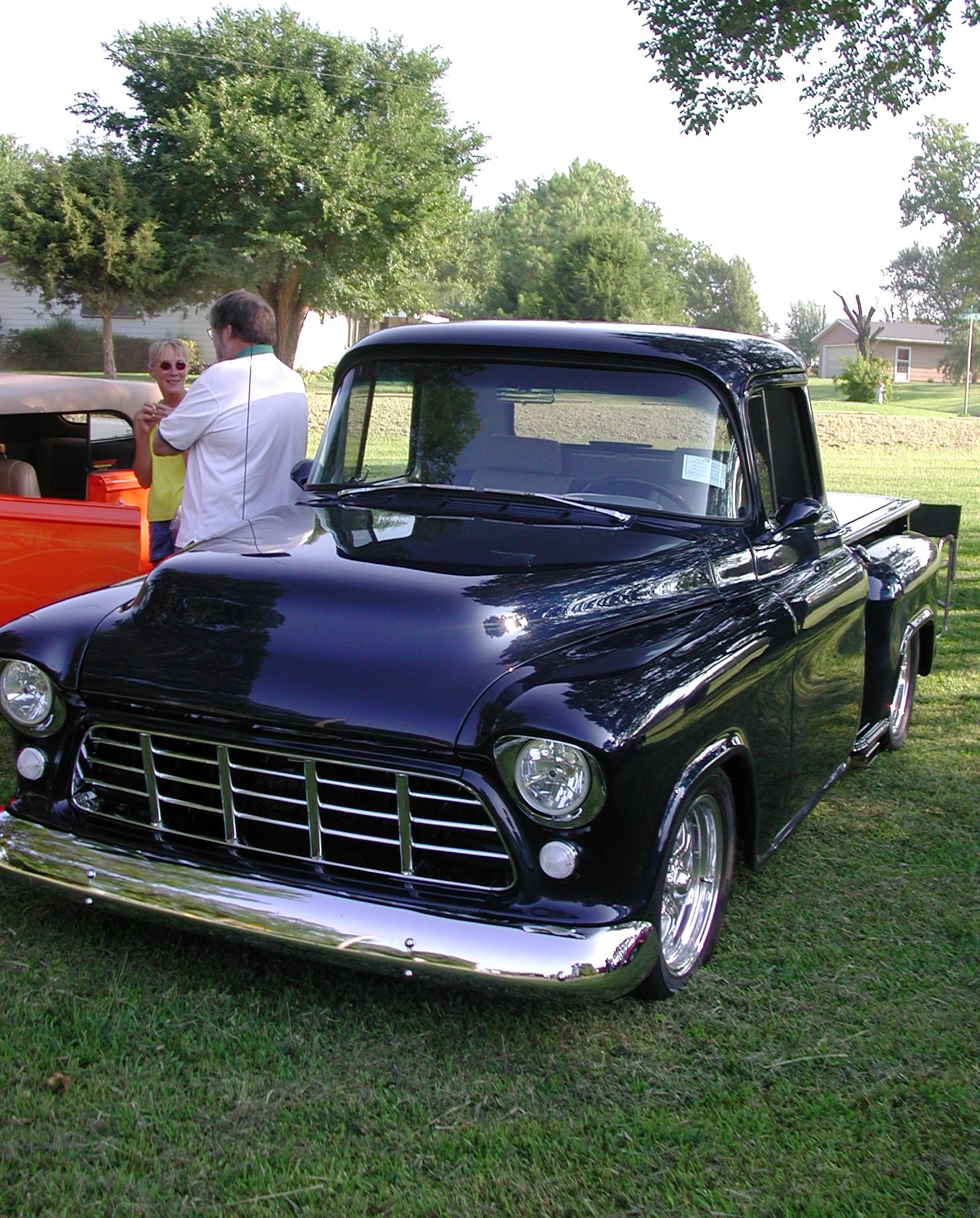 Car 3: 56 Chevy Pick-up