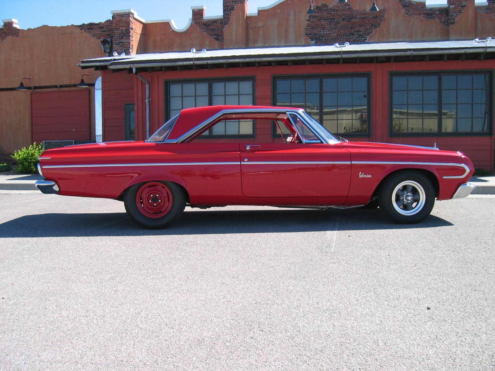 Car 1: 64 Belvedere
